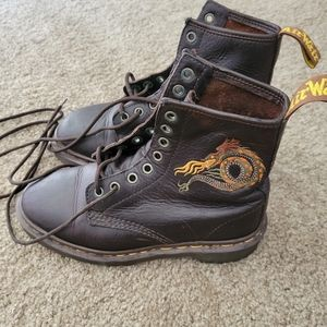 Dr. Martens Dragon Boots Size 4/ 6 Ladies
